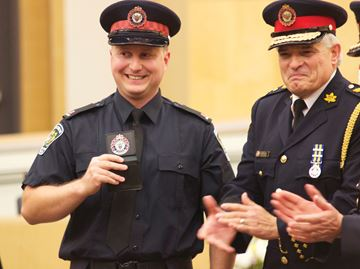 Nine recruits welcomed to South Simcoe Police auxiliary